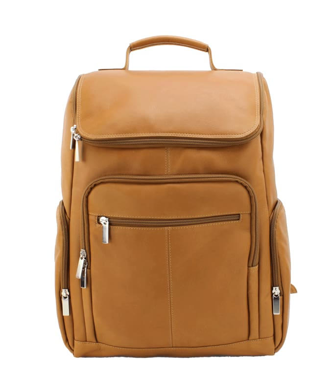 Leather Laptop Backpack - Bayfield Bags