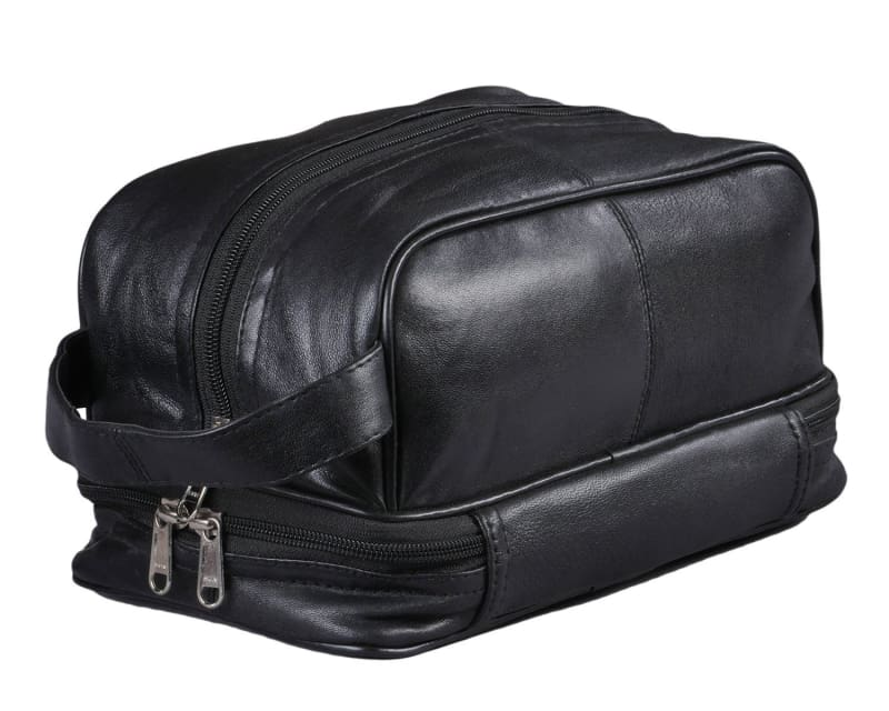 Mens Toiletry Bag Shaving Dopp Kit Case For Travel - Toiletry Bag For Mens Toiletries - Dopp Bag For Men - Allendales