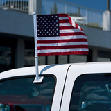 American Flag Car Accessory - $0.50 per unit