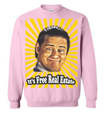 Exclusive 'Free Real Estate' Sweaters & Hoodies - ONLY 5 LEFT