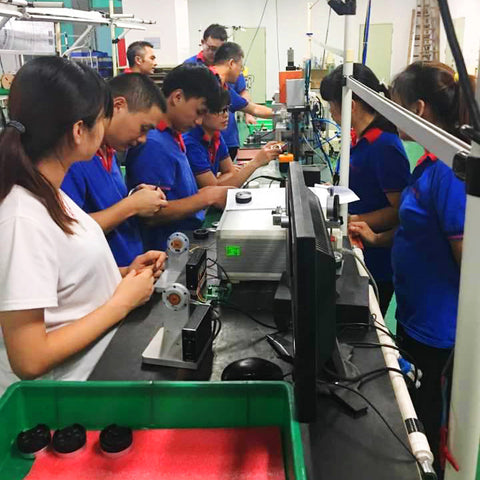 This is REVL motor assembly line in China!