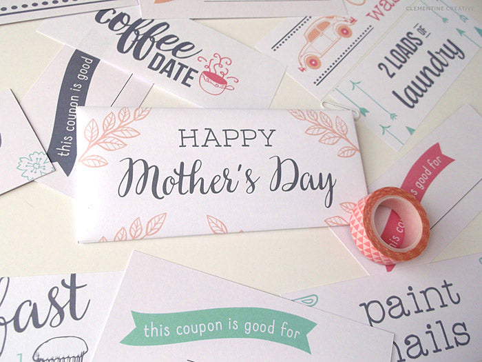 Mother's Day Free Download Day #1 (Coupon Book)
