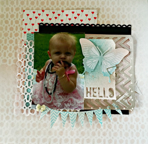 Layout using Chevron Die