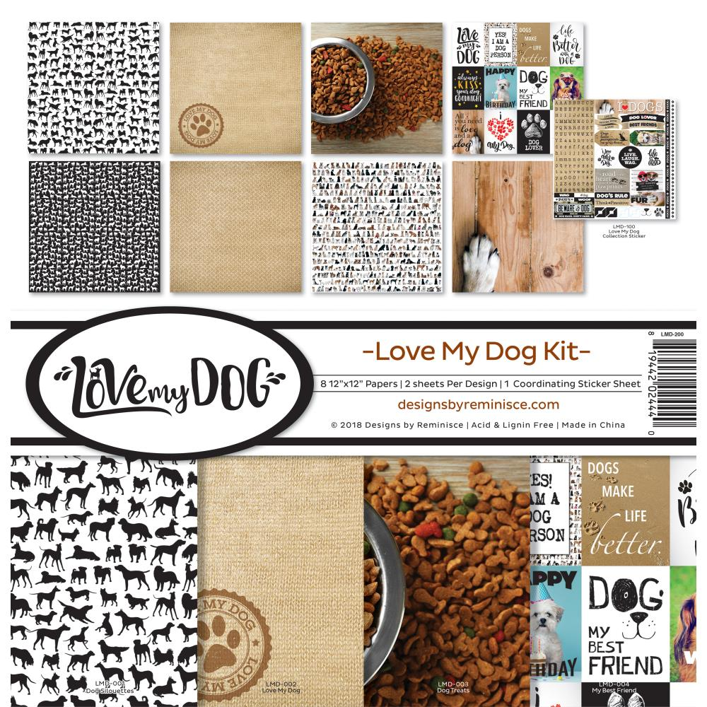 Reminisce Love My Dog Collection Kit
