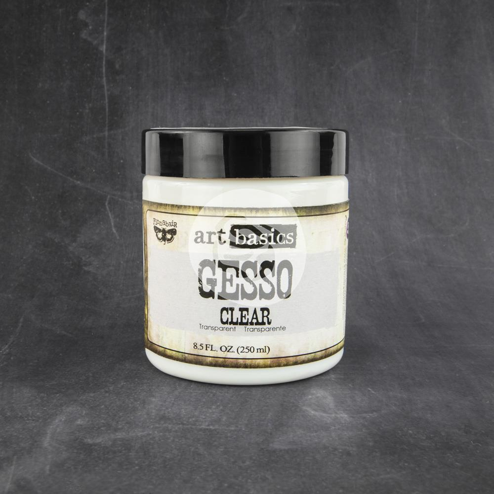 Finnabair Art Basics Clear Gesso  8.5oz - Scrap Of Your Life