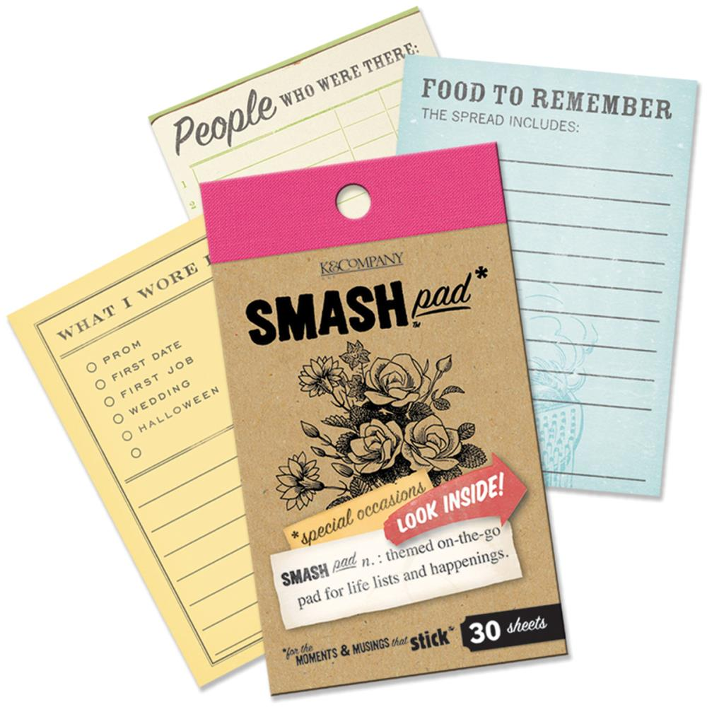 K and Company - SMASH Collection - Pad Special Occasions - Scrap Of Your Life