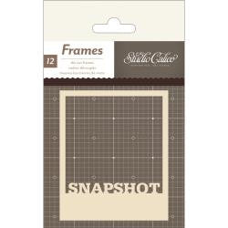 Studio Calico 3 Die-Cut Polaroid Frames Vellum & Kraft Cardstock - Scrap Of Your Life