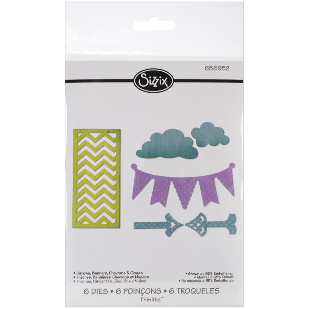 Sizzix Die Arrows, Banners, Chevrons & Clouds - Scrap Of Your Life