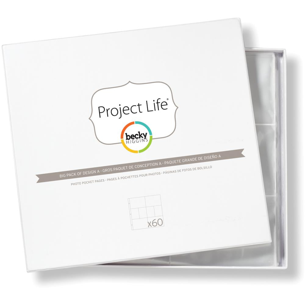 Project Life Photo Pocket Page Design A