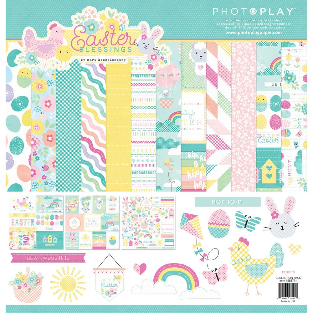 "PhotoPlay Collection Pack 12""X12"" Easter - Scrap Of Your Life"