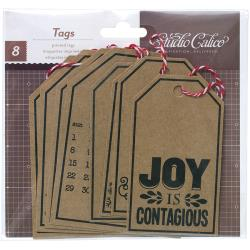 Studio Calico Printed Tags
