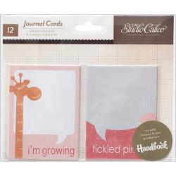 "Studio Calico Story Time Girl Handbook Journaling Cards 2.5""X3.5"""