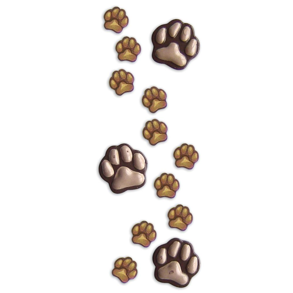 EK Success Jolee's By You  Dimensional Stickers Paws