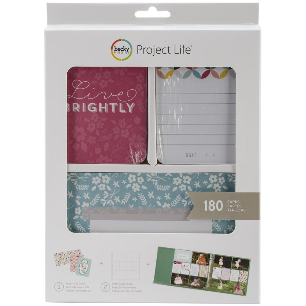 Project Life Value KIt Live Brightly