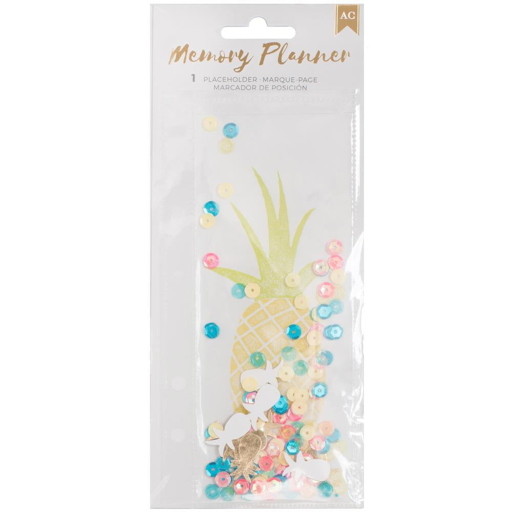 American Crafts Memory Planner Bookmark Pineapple