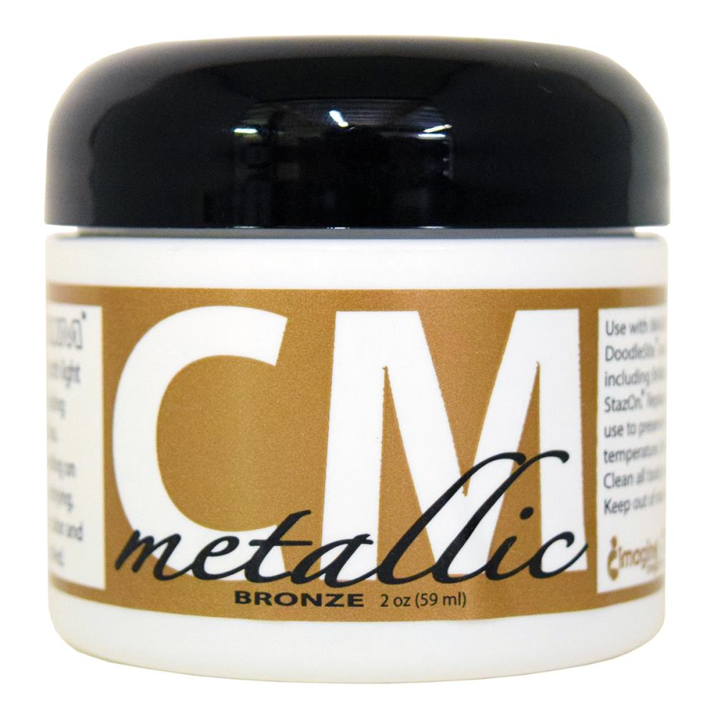 Creative Medium Metallic Texture Paste Bronze 2 oz