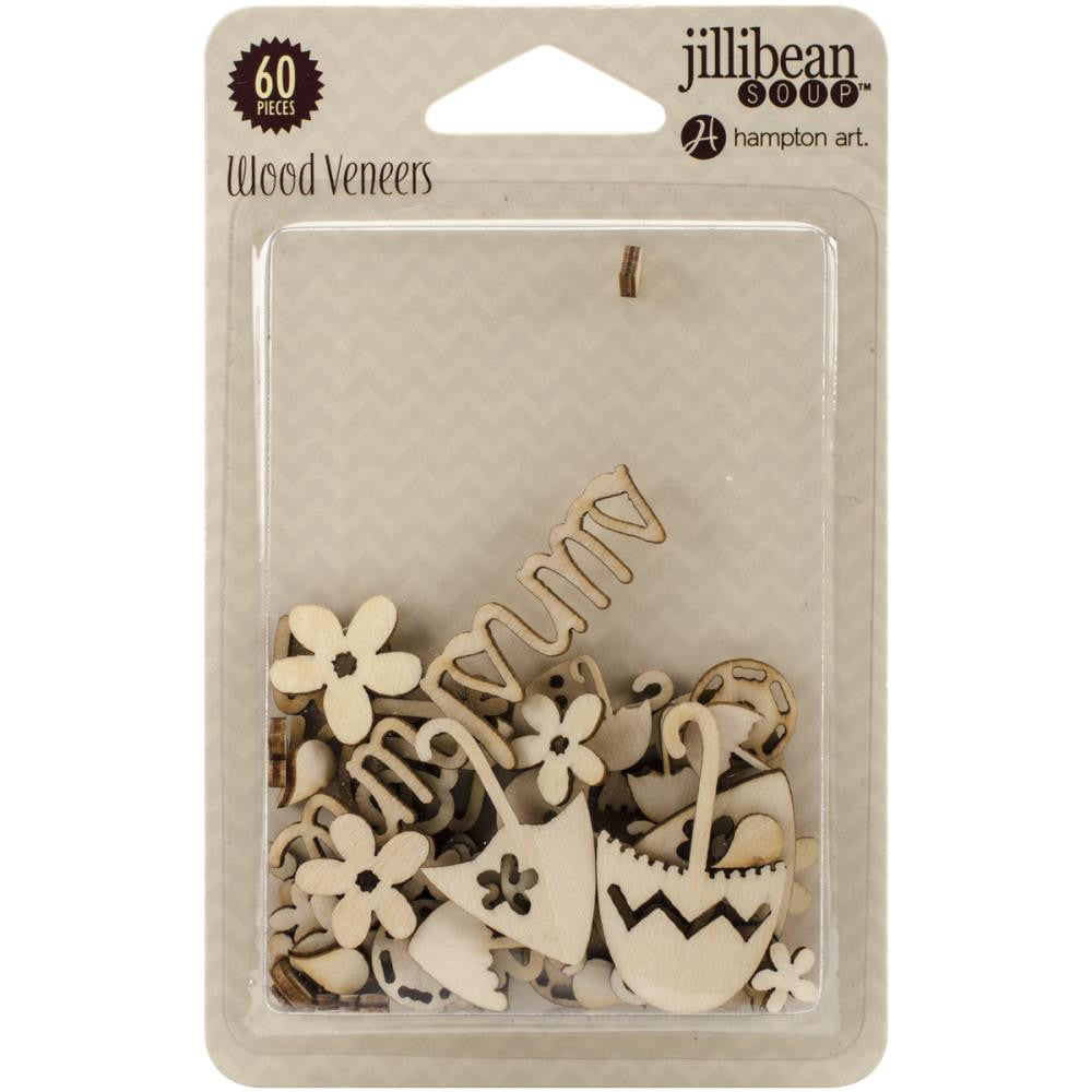 Jillibean Soup Yellow Pepper Soup Laser Cut Wood Veneer Shapes