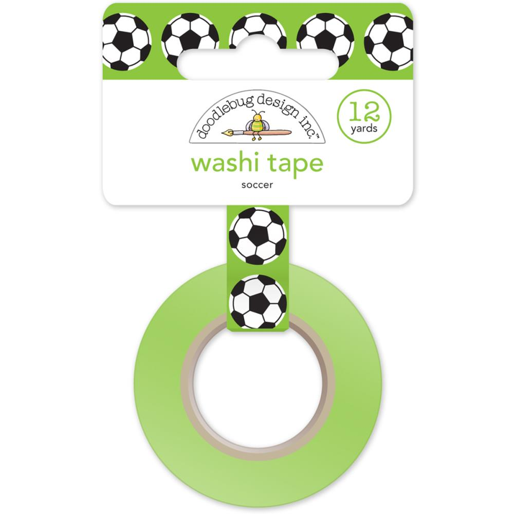 Doodlebug Washi Tape Goal Soccer Ball