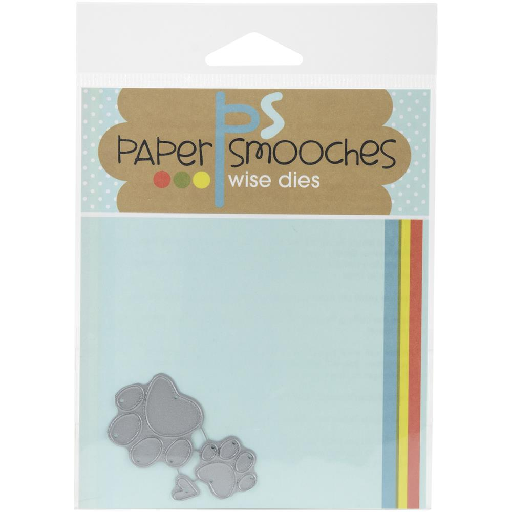 Paper Smooch Die Paw Prints
