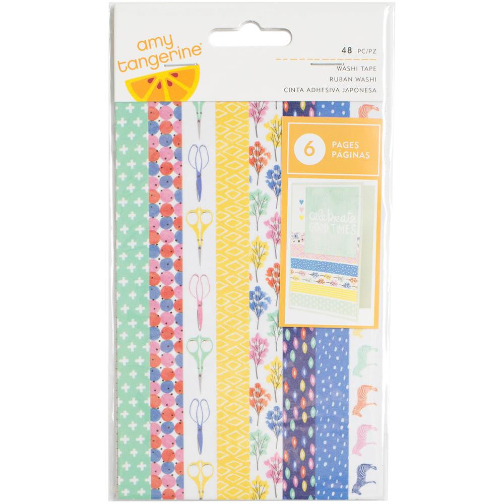 American Crafts Amy Tangerine Finders Keepers Washi Tape - Scrap Of Your Life