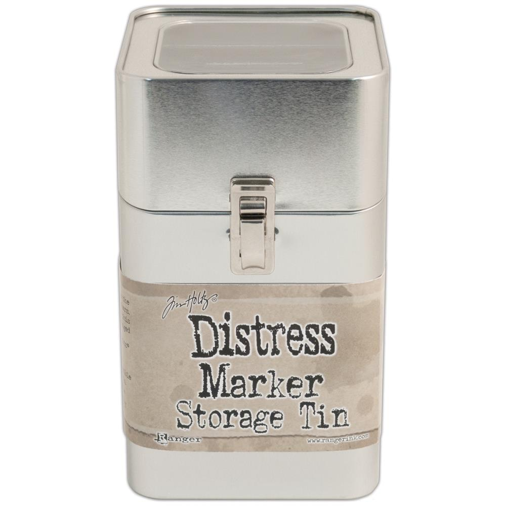 Tim Holtz Distress Marker Tin - Empty - Scrap Of Your Life