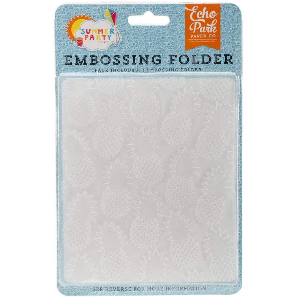Echo Park Embossing Folder Pineapple
