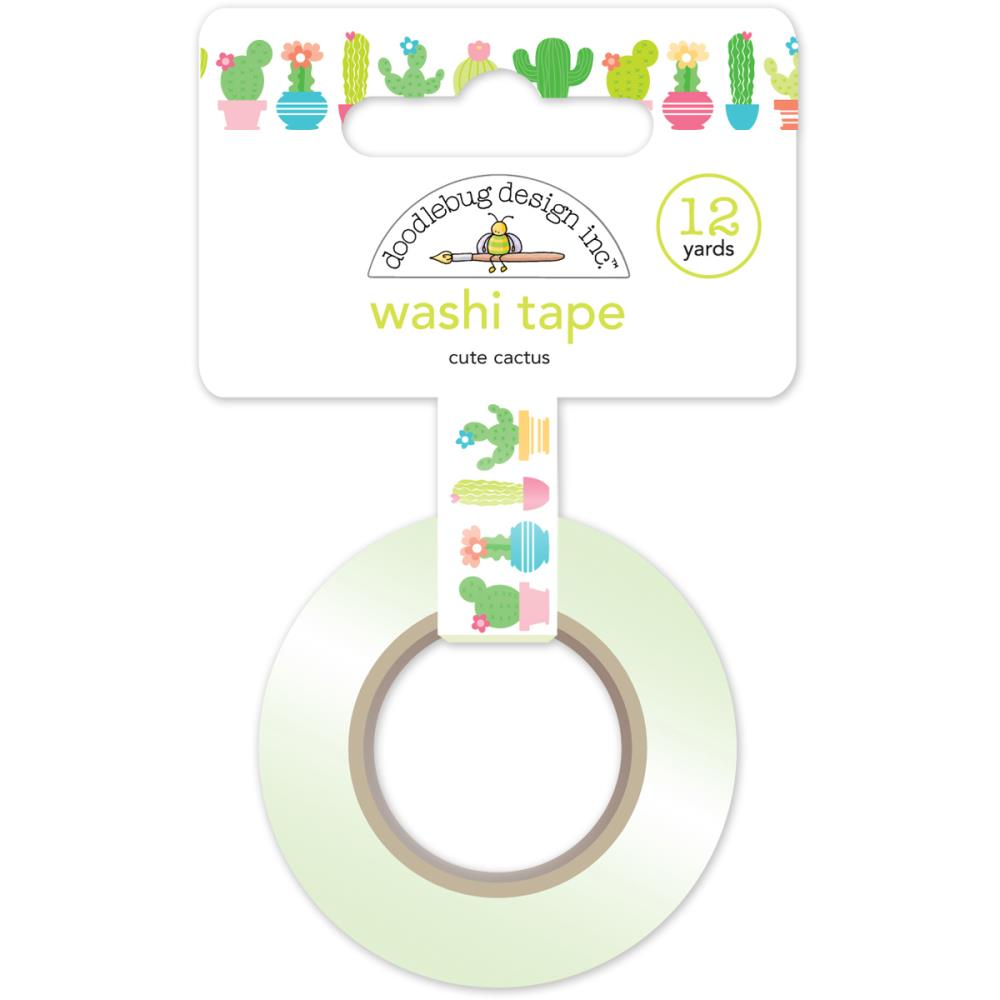 Doodlebug Washi Tape Cute Cactus