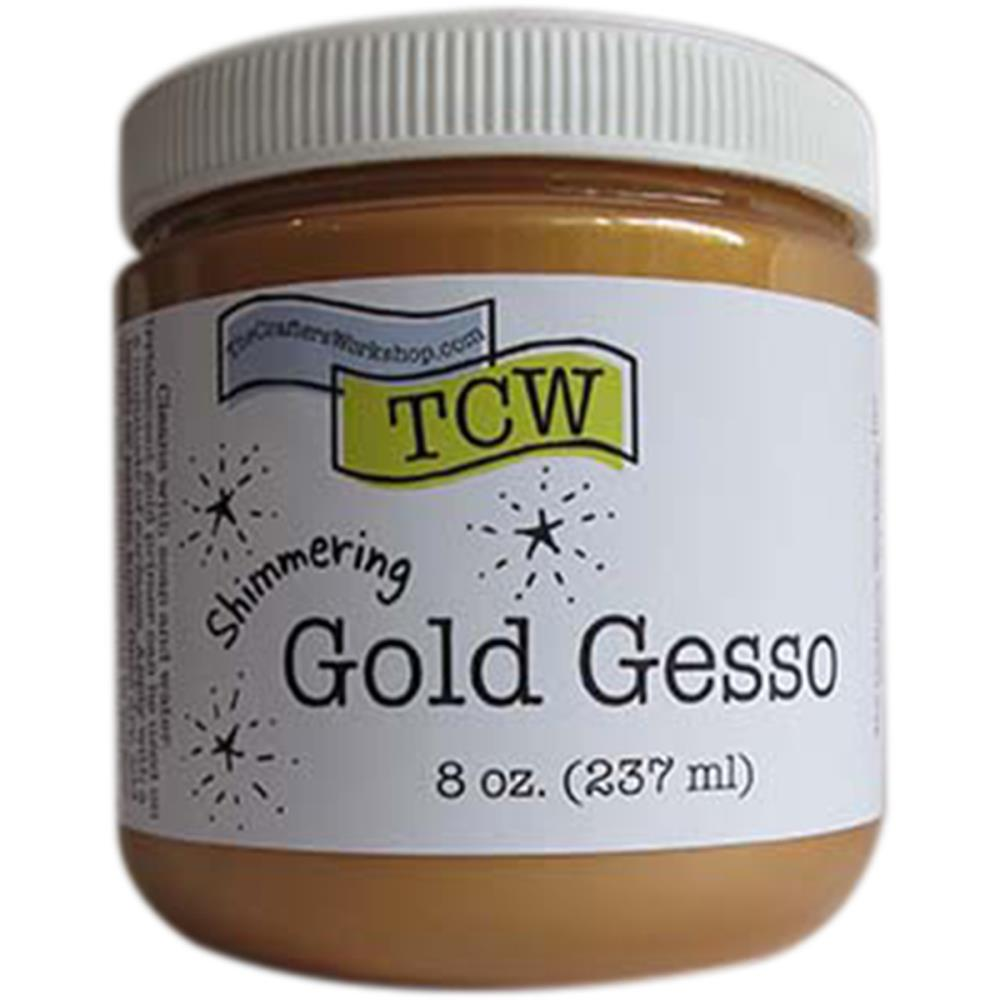 Crafter's Workshop-Gesso Gold