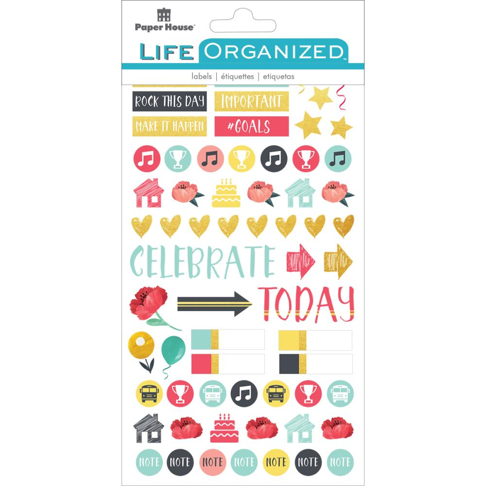 Paper House Paper Planner Stickers Family