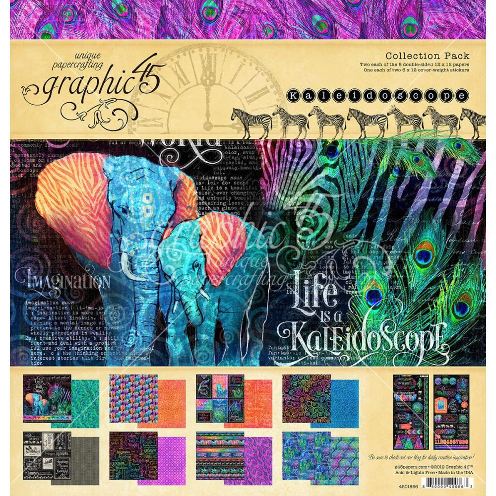 Graphic 45 Collection Pack Kaleidoscope - Scrap Of Your Life