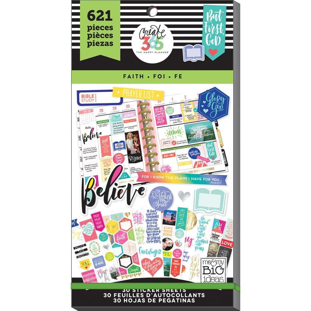 Me and My Big Ideas Create 365 Planner Stickers Faith