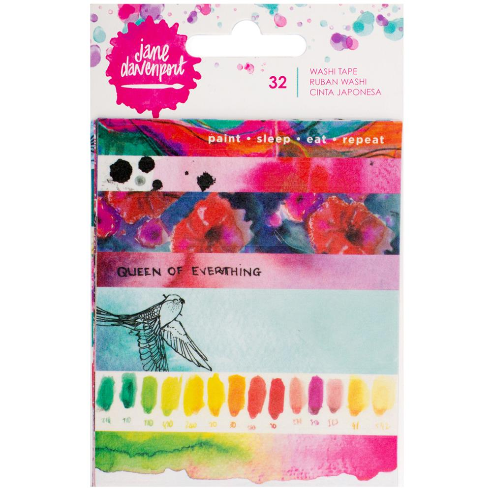 Jane Davenport Mixed Media Washi Tape - Scrap Of Your Life