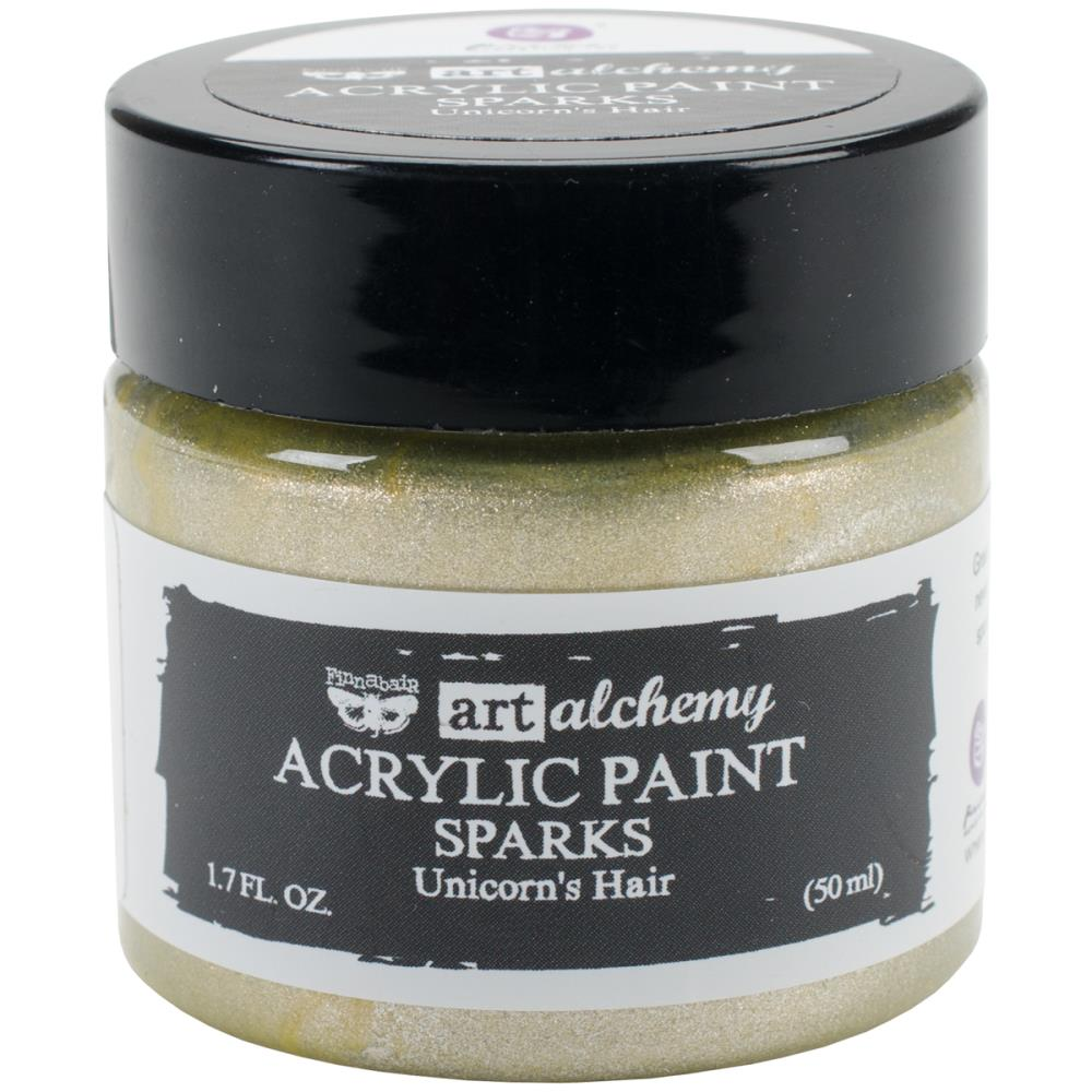 Finnabair Art Alchemy Sparks Acrylic Paint Unicorn's Hair - Scrap Of Your Life