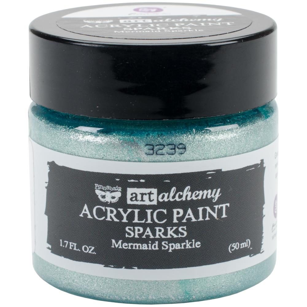 Finnabair Art Alchemy Sparks Acrylic Mermaid Sparkle