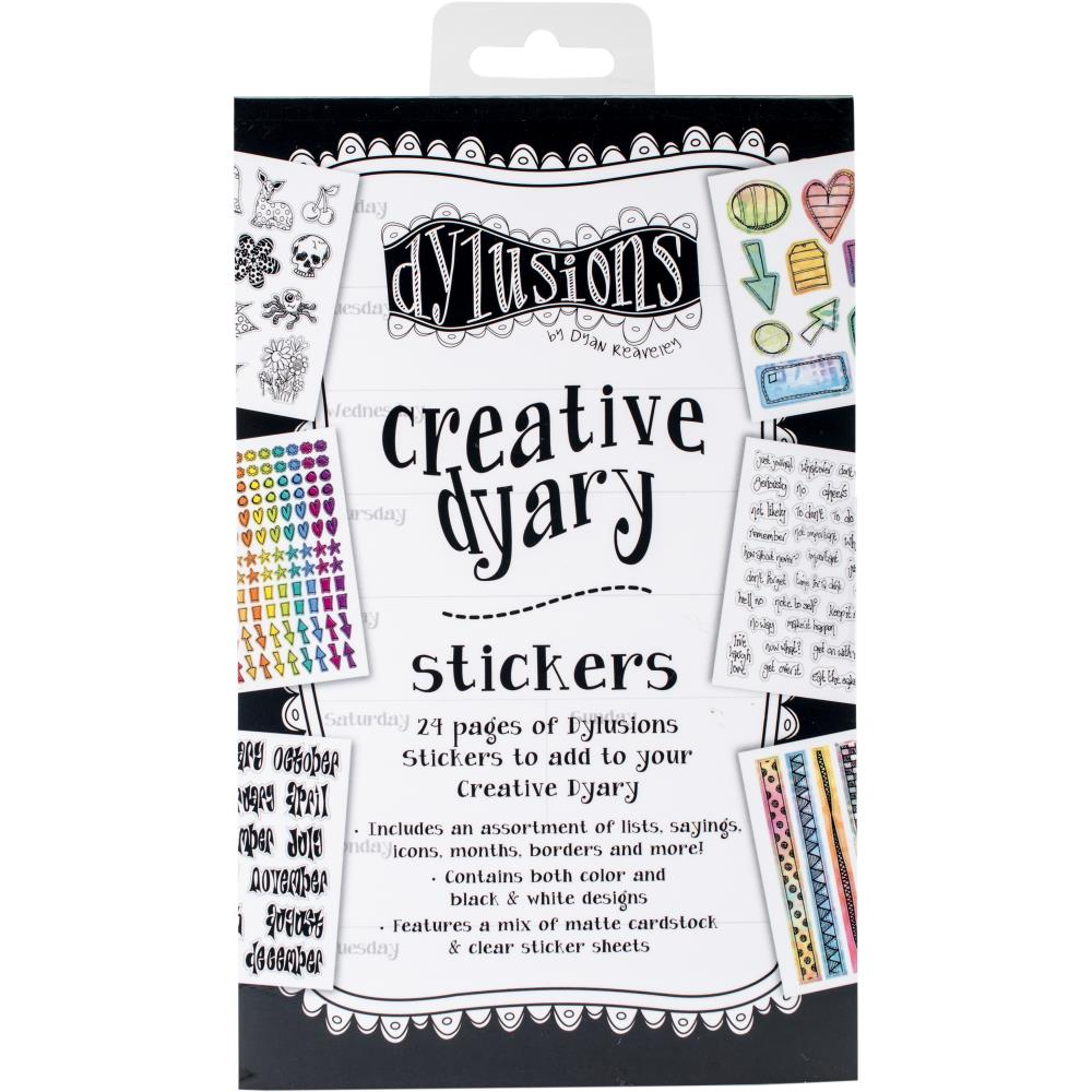 Dylusions Creative Dyary Sticker Book - Scrap Of Your Life