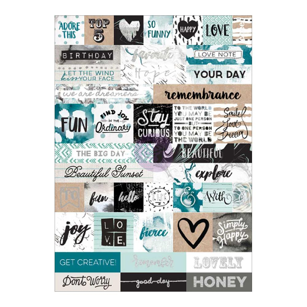 My Prima Planner Sticker Zella Teal - Scrap Of Your Life