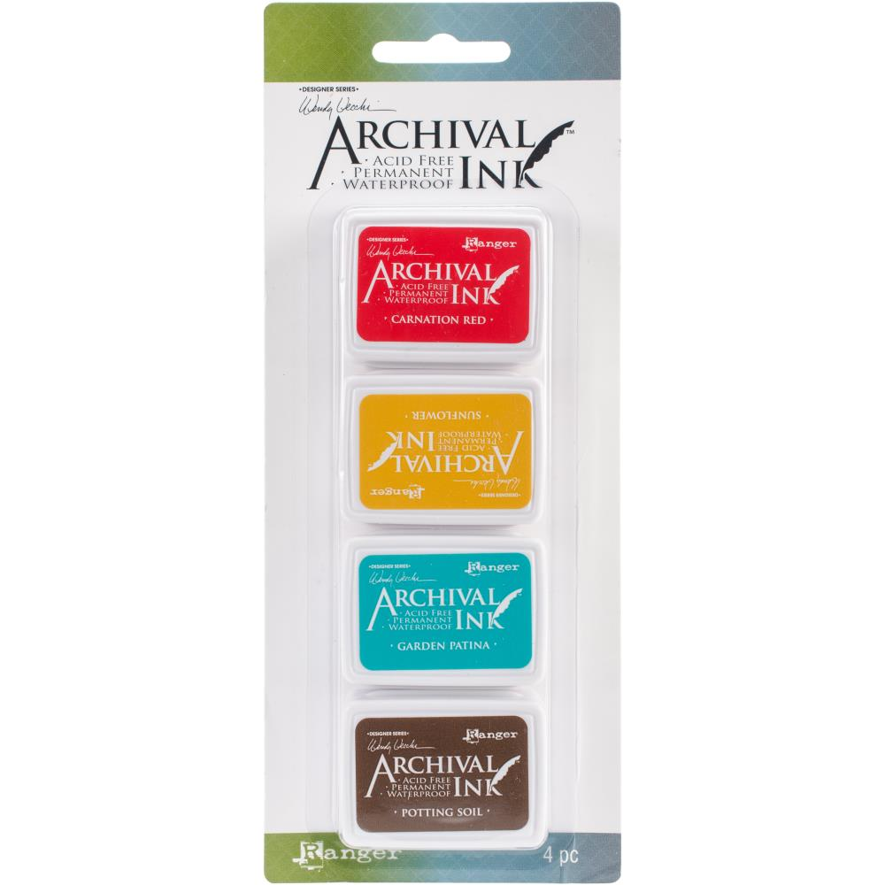 Wendy Vechhi Mini Archival Ink Pads #Kit 1 - Scrap Of Your Life