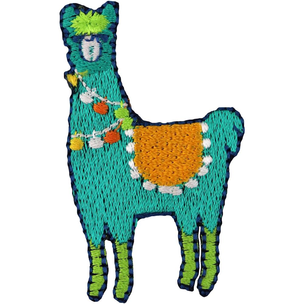 Scrap of Your Life Iron On Applique Llama