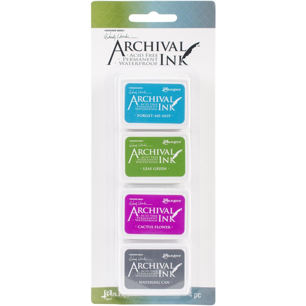 Wendy Vechhi Mini Archival Ink Pads #Kit 2