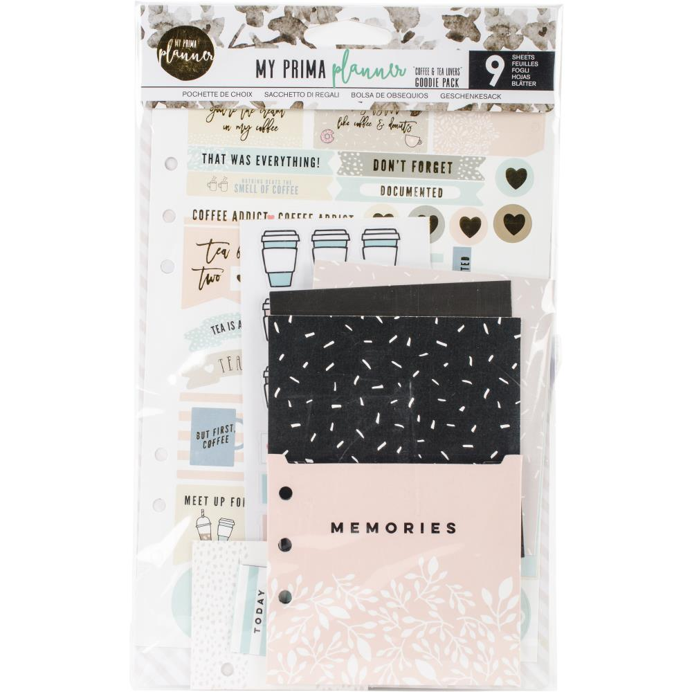 My Prima Planner Goodie Pack Planner Accessories, Coffee and Tea Planner and Scrapbooking