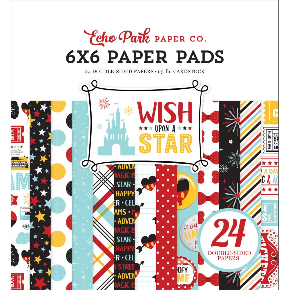 Echo Park Wish Upon a Star 6 x 6 Paper Pad