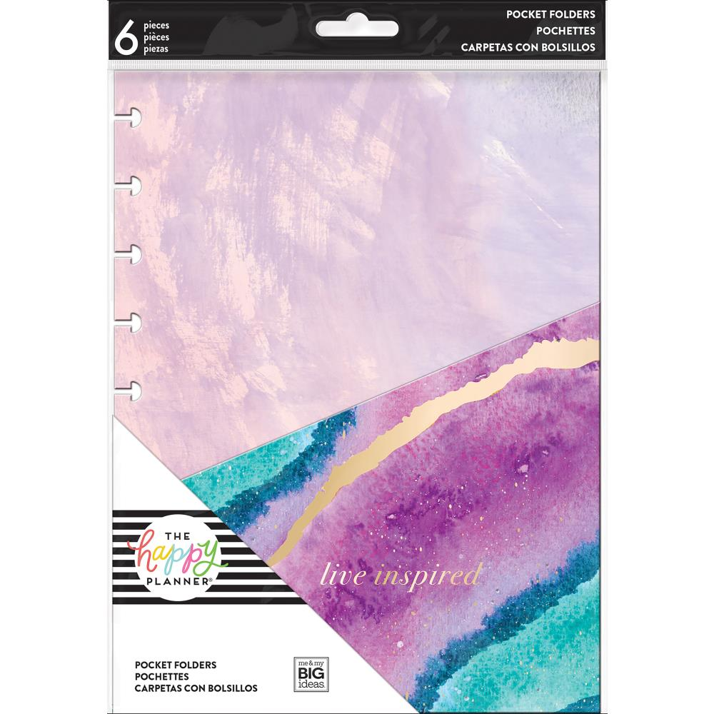 Me and My Big Ideas Happy Planner Medium Planner Folders 6/Pkg Everyday - Scrap Of Your Life