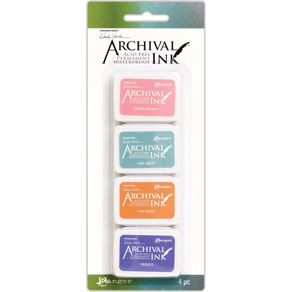 Wendy Vechhi Mini Archival Ink Pads #Kit 3