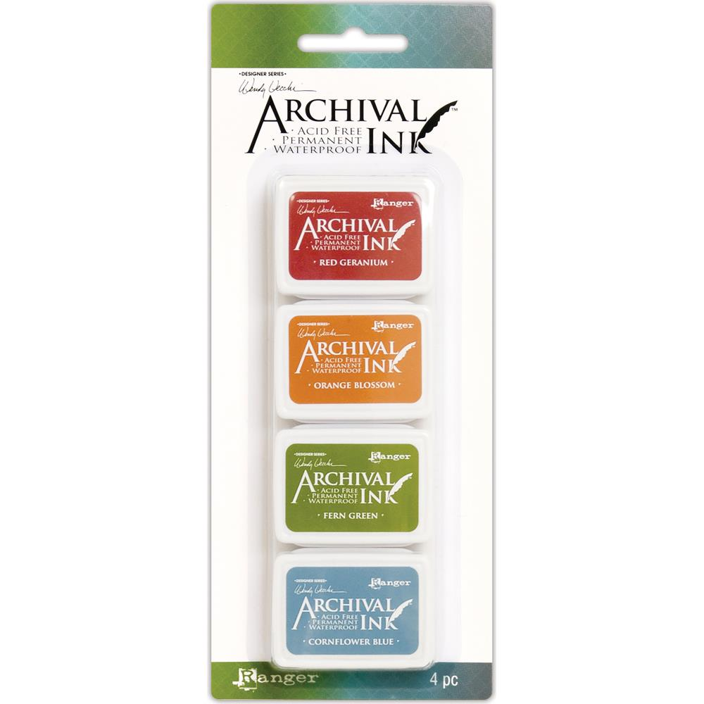 Wendy Vechhi Mini Archival Ink Pads #Kit 4