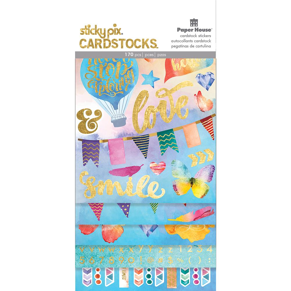 Paper House Paper Planner Stickers Colour Washed