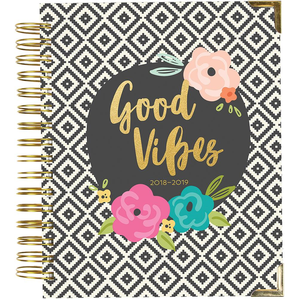 "Carpe Diem Spiral 17-Month Dated Weekly Planner 7""X8.75"""