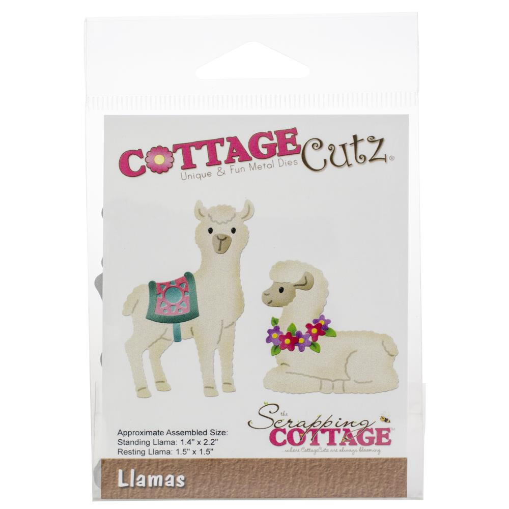 Cottage Cutz - Die Set - Llama Drama - Scrap Of Your Life