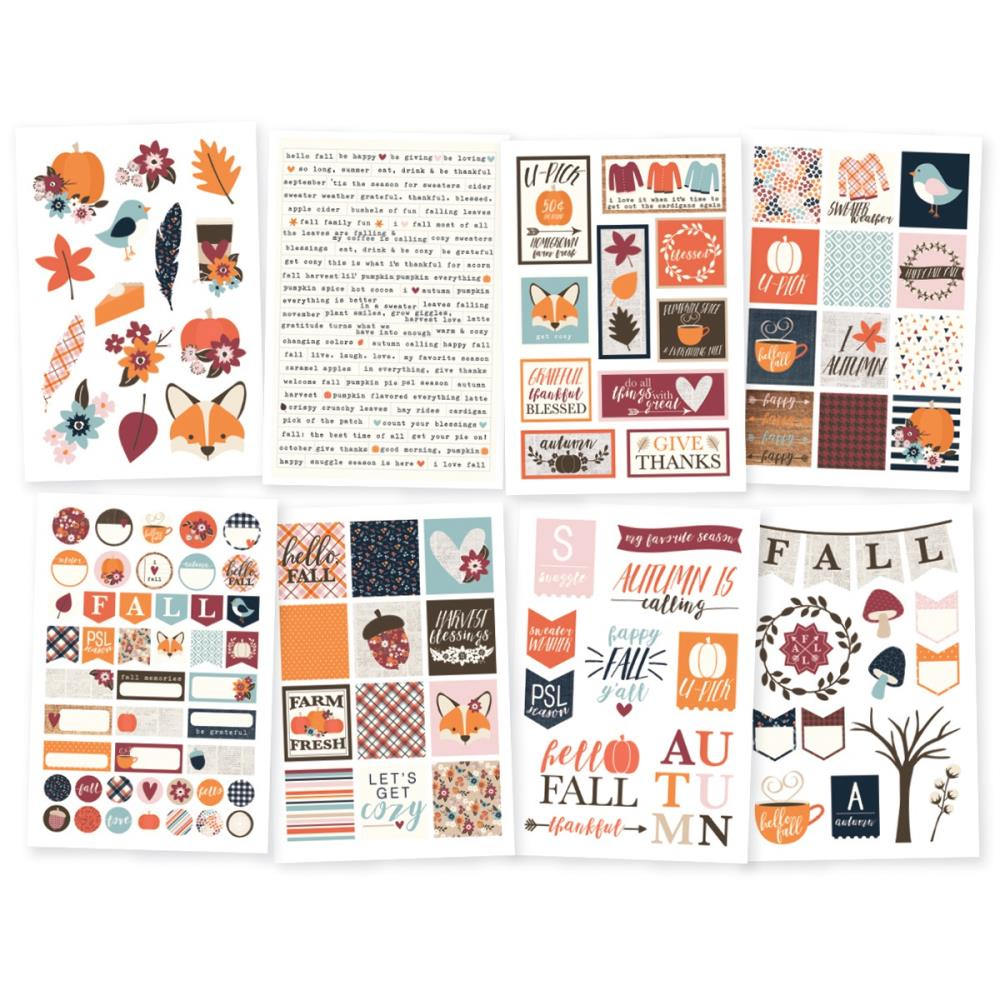 Simple Stories Forever Fall Stickers