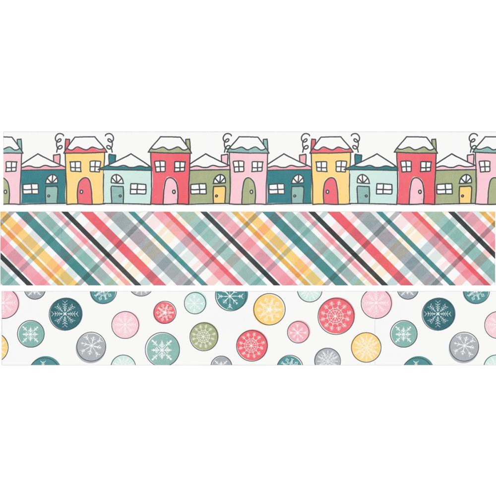 Simple Stories Freezin' Season Washi Tape 3/Pkg - Scrap Of Your Life