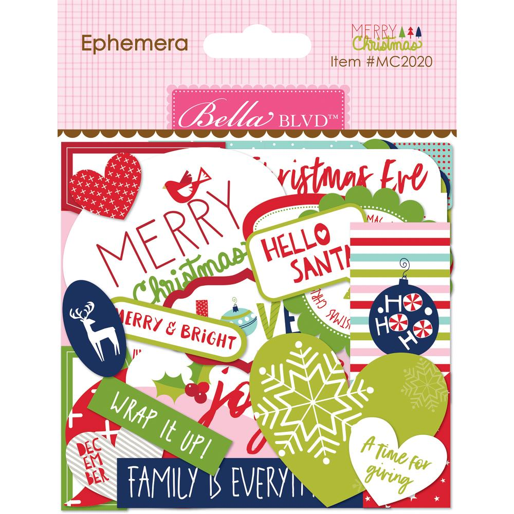 Bella Blvd Very Merry Cardstock Die-Cuts